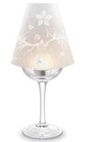 Floral Wine Glass Lampshades