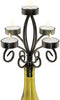 Scroll Wine Bottle Candelabra