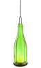 Green Wine Bottle Lantern - Regular