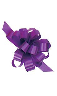 Purple Pull String Bow
