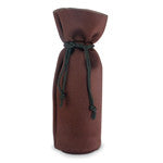 Single Bottle Neoprene Tote Bag - Cocoa