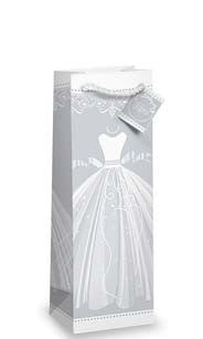 Wedding Dress Bottle Gift Bag