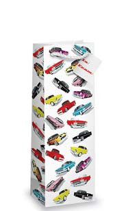 Cars Bottle Gift Bag