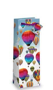 Hot Air Balloon Bottle Gift Bag