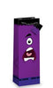 Garf the Purple Creature Bottle Gift Bag