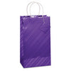 Haberdashery Double Bottle Gift Bag - Violet