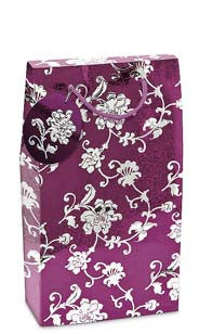 Oriental Rose Double Bottle Gift Box - Purple
