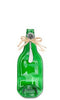 Flat Bottle Cheese Server - Green