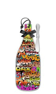 Graffiti Party Cheese Server - Regular