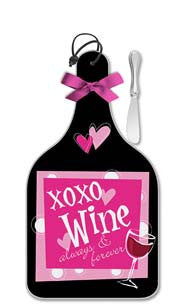 XOXO Wine Cheese Server - Large