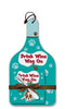 Drink Wine, Wag On Cheese Server Gift Set