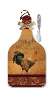 Rooster Cheese Server - Large