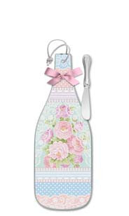 Floral & Lace Cheese Server - Regular