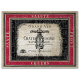 Grand Vin Tempered Glass Cutting Board