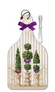 Garden Topiary Cheese Server - Large