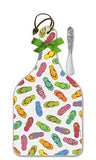 Flip Flops Cheese Server - Large