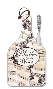 Rhythm In Wine Cheese Server - Large