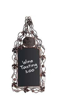 Grapevine Wine Bottle Chalkboard