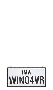 IMA WINO4VR Metal Sign