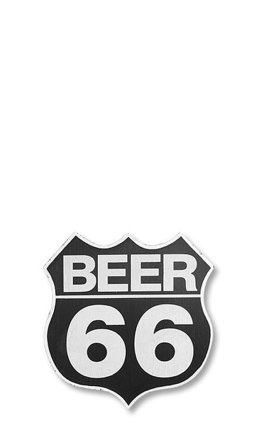 Beer 66 Wall Sign