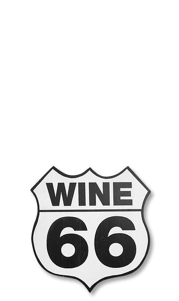 Wine 66 Wall Sign