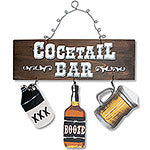 Cocktail Bar Wood Cut-Out Sign
