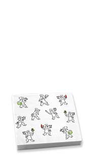 Holiday Chefs Beverage Napkins