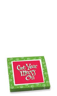 Get Your Merry On Beverage Napkins