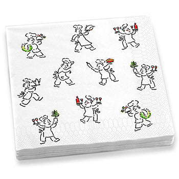 Holiday Chefs Dinner Napkins