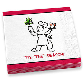 'Tis The Season Dinner Napkins
