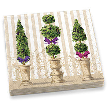 Garden Topiary Dinner Napkins
