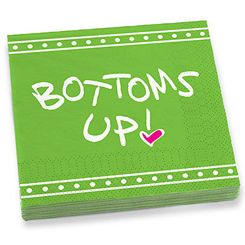 Bottom's Up! Dinner Napkins