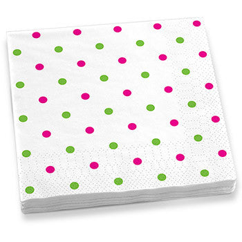 Polka Dots Dinner Napkins
