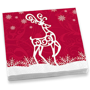 Reindeer Dinner Napkins