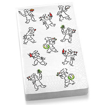 Holiday Chefs Guest Towel Napkins