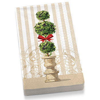 Holiday Topiary Guest Towel Napkins