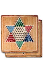 Chinese Checkers Stone Coaster Set
