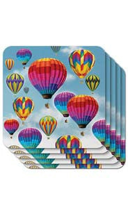 Hot Air Balloon Coasters