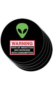 Alien Abduction Coasters