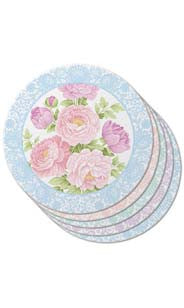 Floral & Lace Coasters