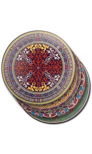 Arabesque Stone Coasters