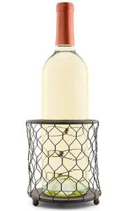 Chicken Wire Bottle Holder