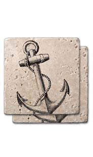 Anchor Stone Coasters