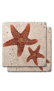 Starfish Stone Coasters