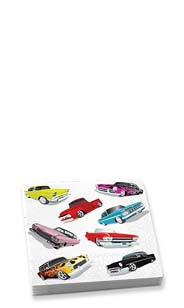 Cars Beverage Napkins