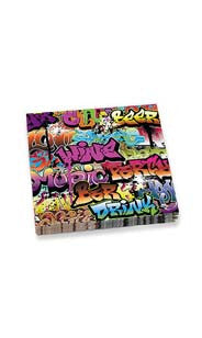 Graffiti Beverage Napkins