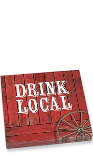 Drink Local Dinner Napkins