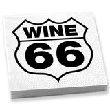 Wine 66 Dinner Napkins