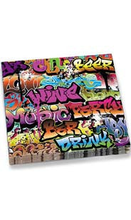 Graffiti Dinner Napkins