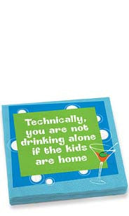 Technically Alone Dinner Napkins